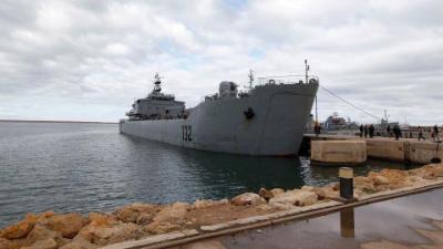 ليبيا / الجيش الليبي: حمولة السفينة التركية في طرابلس