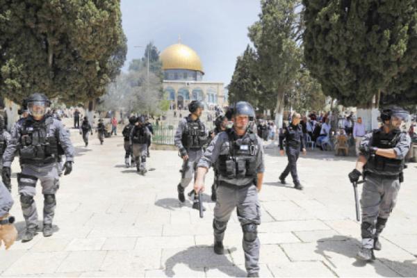 الاردن  الخارجية تدين اعتداء الشرطة الاسرائيلية على المصلين في الأقصى