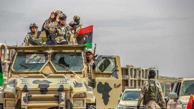 الجيش الليبي: لن نتفاوض مع الوفاق إلا بعد خروج