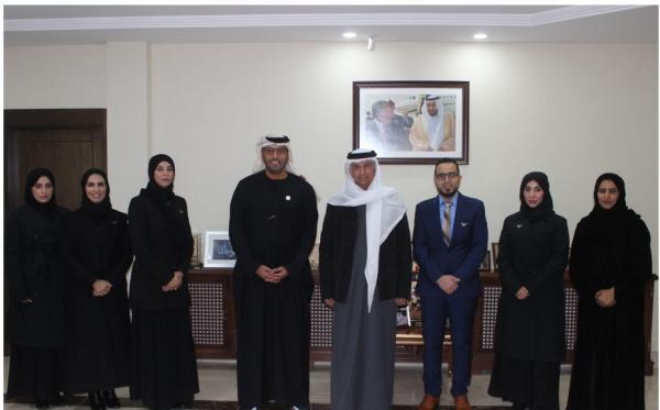 سفير الإمارات في الأردن يلتقي وفد مؤسسة زايد العليا لأصحاب الهمم