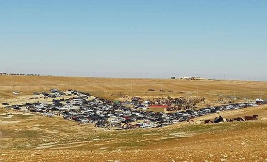 بالصور: تشييع جثامين عائلة الصرايرة بالكرك