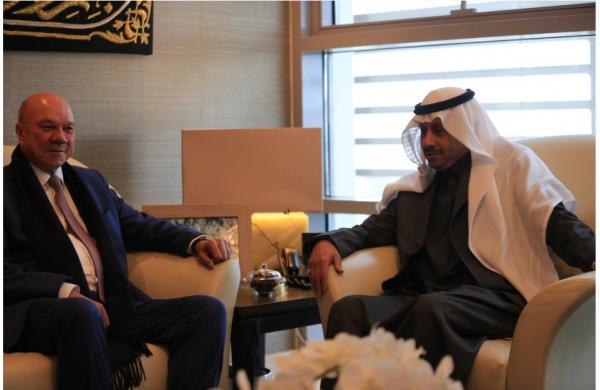 سفير المملكة السعودية لدى الأردن يستقبل الفايز و يشيد بعمق العلاقات السعودية – الأردنية