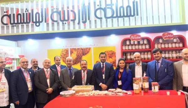 ٦٥ شركة أردنية شاركت في معرض 'جلف فود' في دبي