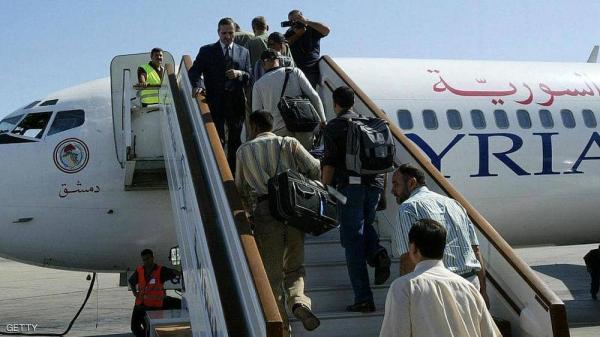 منذ 8 سنوات.. إقلاع رحلة جوية بين دمشق وحلب