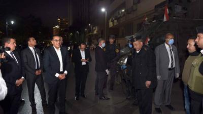مصر  رئيس الوزراء فى جولة لمتابعة تطبيق إجراءات حظر التجوال