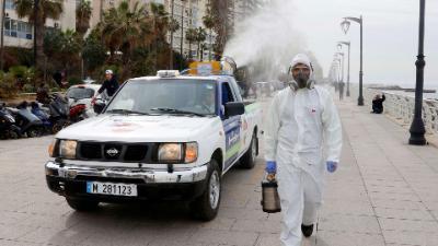 لبنان: وفاة ثالثة جراء الإصابة بفيروس كورونا