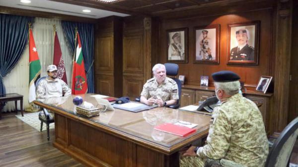 الاردن : الملك: الجيش العربي يسهر على سلامة أبنائنا في إربد كالأب الحاني