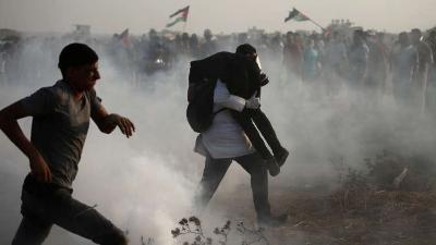 مقتل فتى فلسطيني برصاص الاحتلال خلال مواجهات جنوبي نابلس