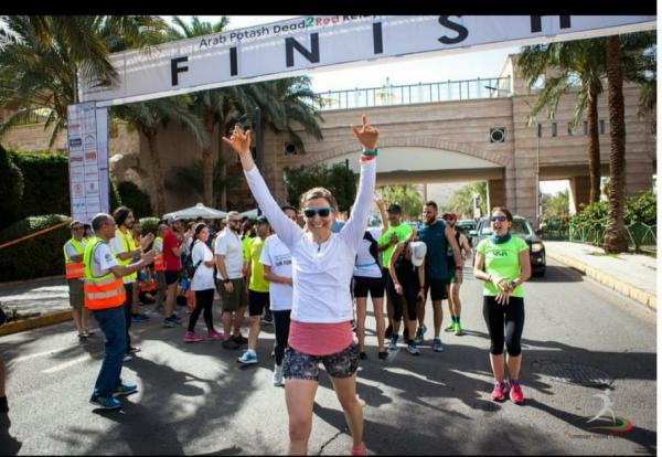 الغاء سباق الركض من البحر الميت الى البحر الأحمر