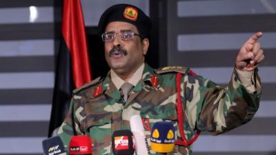 المسماري: الاشتباكات مستمرة.. والجيش الليبي قادر على حسم الموقف ضد الميليشيات