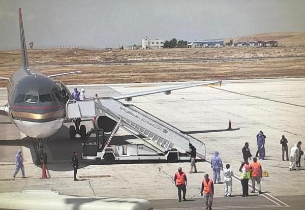 وصول طائرتين تقلان طلبة أردنيين الى مطار الملكة علياء
