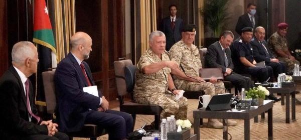 الاردن الملك: موقف الأردن لم ولن يتغير من القضية الفلسطينية
