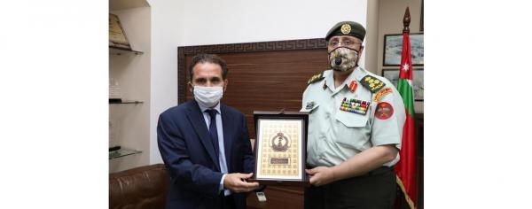 الأمير مرعد يؤكد ضرورة تقديم أفضل الخدمات الطبية للمصابين العسكريين