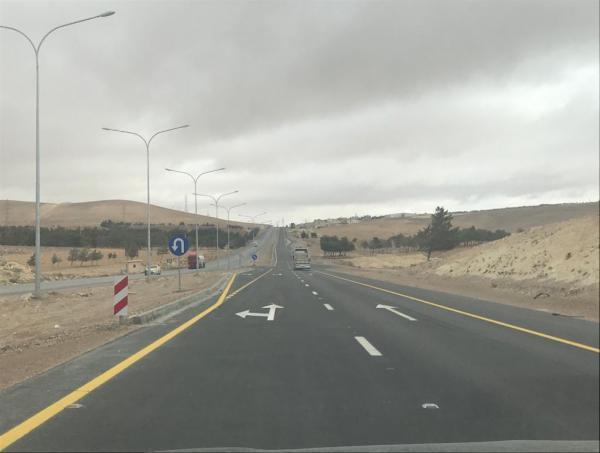 الاردن الأشغال: نسبة الإنجاز في الصحراوي تبلغ 93%