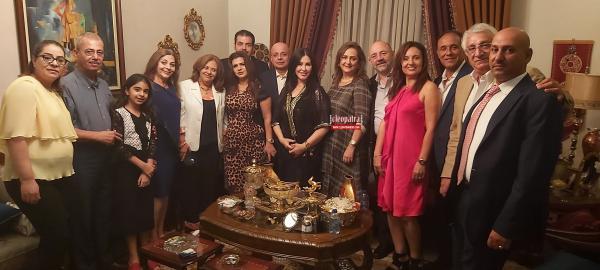 سهرة طرب وحفل عشاء لرجال أعمال ودبلوماسيين في منزل الدكتورة شانكول قادر