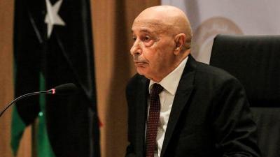 ليبيا عقيلة صالح: إعلان القاهرة هو الأقرب لحل الأزمة الليبية بكل حيادية