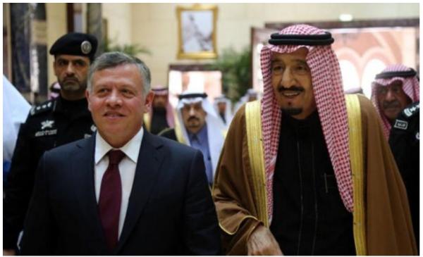 عاهل الاردن  يهنئ خادم الحرمين الشريفين باليوم الوطني للسعودية