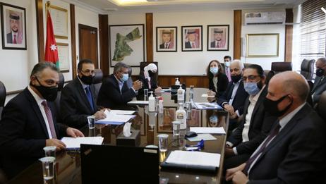 الاردن عقد الاجتماع الاول للجنة التوجيهية لمراجعة استراتيجية واهداف برنامج الغداء العالمي