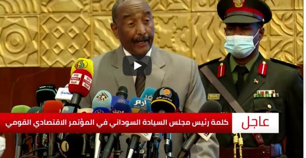 البرهان: أمامنا فرصة لرفع اسم السودان من قائمة الإرهاب