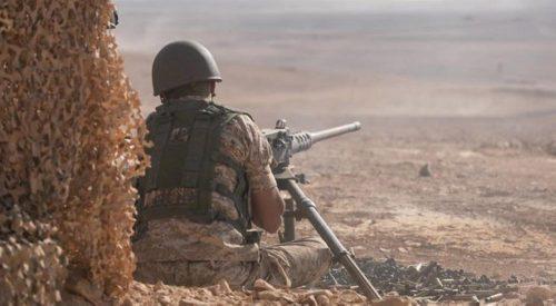 الجيش يحبط محاولتي تسلل من وإلى الأردن