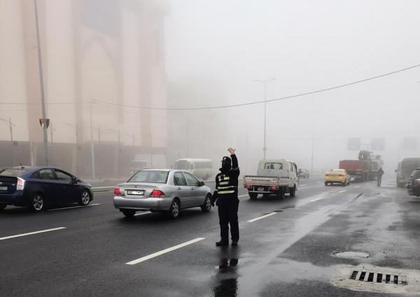 الاردن الأمن يحذر السائقين خلال المنخفض الجوي: الحيطة والحذر