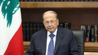 الرئيس اللبناني يدعو للعودة لمفاوضات ترسيم الحدود مع إسرائيل
