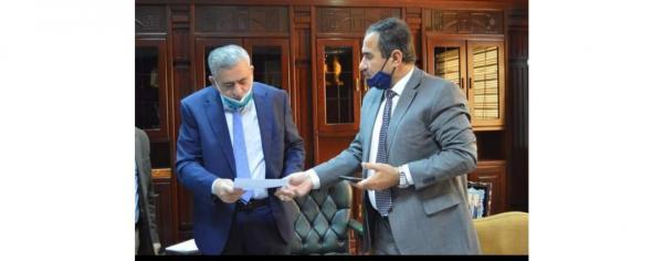 النائب النسور يشكر إستجابة وزير الصحة للوقوف على احتياجات مستشفى السلط