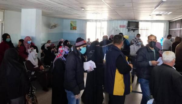 الاكتظاظ بعيادات مستشفى الاميرة بسمة يعيق تطبيق معايير السلامة