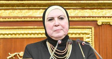 نيفين جامع: نعمل على الوصول بصادرات مصر إلى 100 مليار دولار فى العام