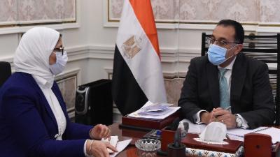 وزيرة الصحة: تطعيم أصحاب الأمراض المزمنة وكبار السن بلقاح كورونا خلال ساعات