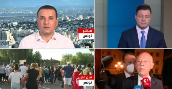 محلل سياسي: اعتصام الغنوشي خطوة استباقية للتصعيد العسكري في تونس