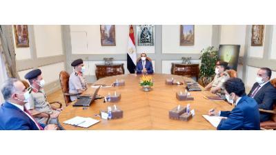 الرئيس السيسي يوجه بإنشاء مقر المنظمات الدولية بالحى الدبلوماسى وفق المعايير العالمية