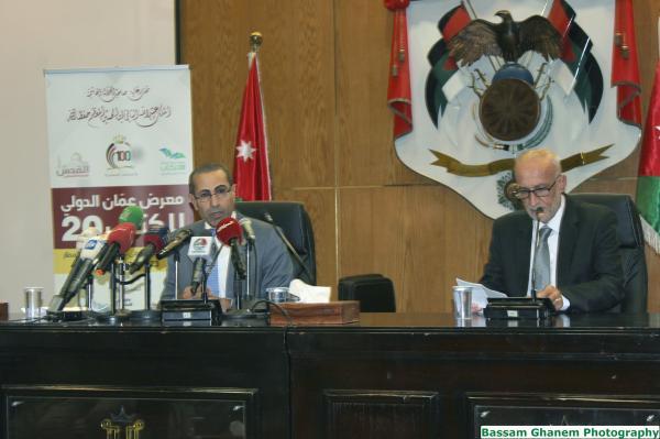 طلاق معرض عمان الدولي للكتاب الخميس المقبل