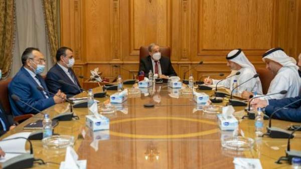 مصر وزير الإنتاج الحربي يبحث التعاون مع مدير مجلس الإمارات للشركات الدفاعية