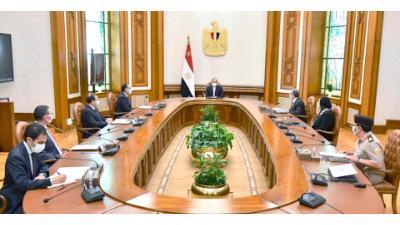 الرئيس السيسي يوجه برفع كفاءة منظومة الخدمات والمنتجات البترولية