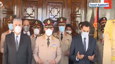 الرئيس السيسي ينيب وزير الدفاع لإحياء ذكرى رحيل الزعيم جمال عبد الناصر