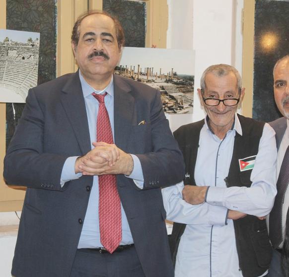 """""""حضارات .. في حضارة """" معرض صور يفتتحه قشوع للمصور الصحفي بسام غانم"""